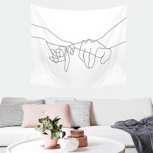 Design Hand Wandbehang