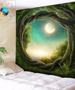 Wandbehang aus Baumwolle