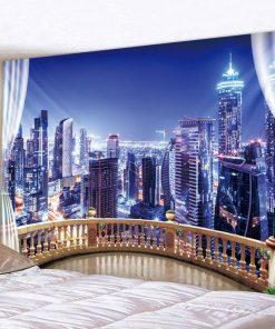 City Night Wandbehang